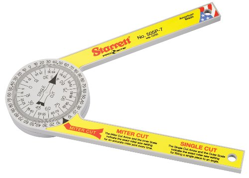 Starrett 505P-7 Miter Saw Protractor
