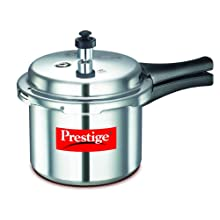 Prestige Popular Aluminium Pressure Cooker, 3 Litres
