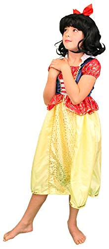 My Costume Wigs Classic Snow White Dress and Wig Set