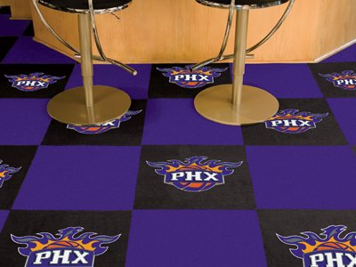 "Phoenix Suns NBA Carpet Tiles (18""x18"" tiles)"