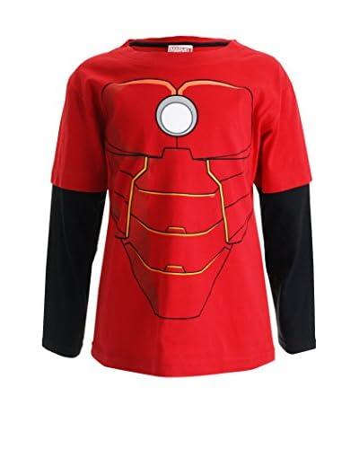 MARVEL Camiseta Manga Larga Iron Man Costume