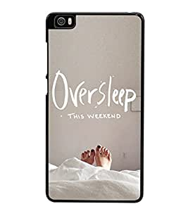 Oversleep this weekend 2D Hard Polycarbonate Designer Back Case Cover for Xiaomi Mi 5 :: Redmi Mi5