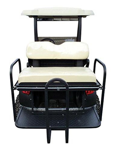 Tyse Ccpr3-Heavy Duty Rear Flip Seat Club Car Precedent-Buff front-24977