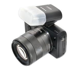 Fotasy DF90EX Professional Omni-Bounce Diffuser for Canon Flash Speedlite 90EX (White)