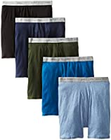 Hanes Men's Boxer Briefs with ComfortFlex Waistband 5-Pack # 7349Z5