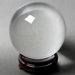 人工(溶錬)水晶玉 110mm