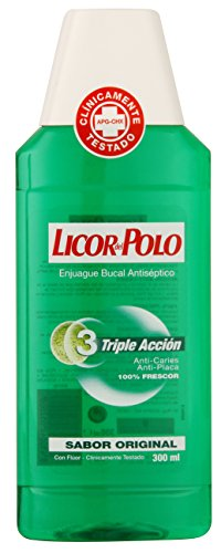 LICOR DEL POLO - TRIPLE ACTION washmouth 300 ml-niños