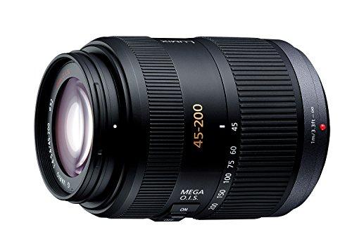 Panasonic マイクロフォーサーズ用  45-200mm F4.0-5.6 望遠ズーム MEGA O.I.S  G VARIO H-FS045200