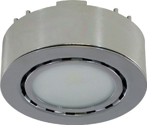 Liteline Corporation UCP-LED1-CH LED Puck Light, 12V, Chrome