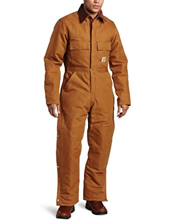 Carhartt Mens Big Arctic Quilt Lined Duck Coverall by Carhartt