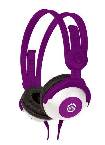 Kidz Gear Wired Headphones For Kids – Purple