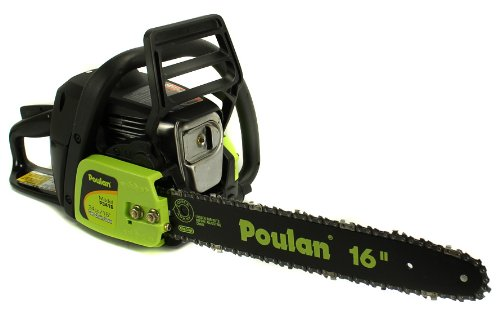 Best Buy! Manufacturer Refurbished Poulan PP3416 16 34CC 2 Cycle Gas Powered Chain Saw Home/Tree Ch...