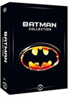 Coffret Batman collection : Batman - Batman le défi - Batman forever - Batman et Robin