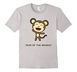 Year of the Monkey Happy New Year 2016 Chinese Calendar Tee from Monkey shirts