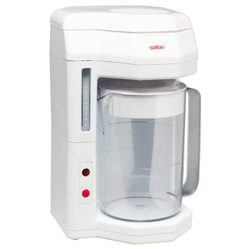 Automatic Iced Coffee Maker : Amazon.com: Salton KM44WHT 2-Liter Iced Tea Maker, White: Electric Ice Tea Machines: Kitchen ...