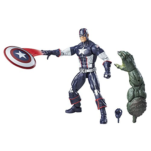 Marvel 6-Inch Legends Series Secret War Captain America (Abomination Figure compare prices)