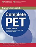 img - for Complete PET Teacher's Book book / textbook / text book