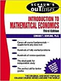img - for Schaum's Outline Introduction to Mathematical Economics 3th (third) edition Text Only book / textbook / text book