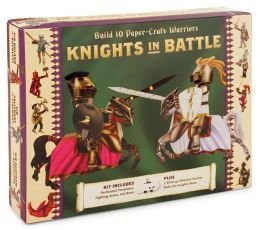 Knights in Battle Build 10 Paper-craft Warriors