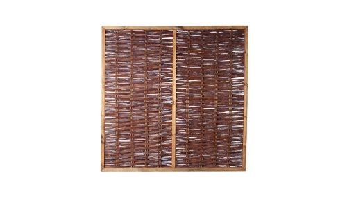 weiden zaun sichtschutz weide im ma 120 x 180 cm. Black Bedroom Furniture Sets. Home Design Ideas