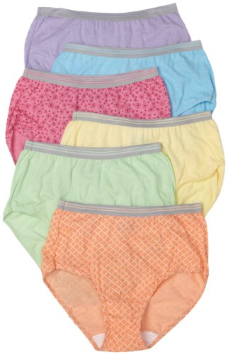 Fruit of the Loom 6pk Heather Brief
