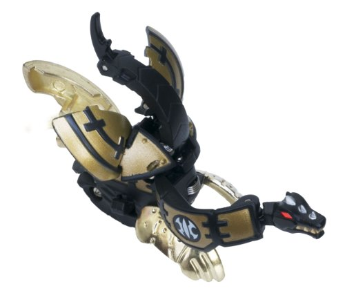Bakugan BTC-73 Baku-Tech Booster Pack Black Aquos Butta Gill Japan Import