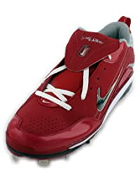 Nike Air Show Elite MVP Men's Baseball Cleats Size 16 Pro Red/White (334339-611)