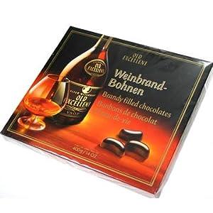 Weinbrand Bohnen Brandy Chocolates