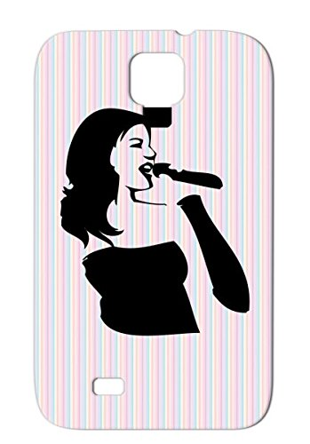 Tpu Singing Protective Case For Sumsang Galaxy S4 Pop Sounds Records Country Dance Rampampb Music Headphone Urban Classic Fun Rockn Roll Crazy Birthday Sound Headphones Party Dj Metal Jazz Hiphop Rock Rock And Roll Black