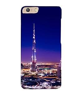 printtech Burj Khalifa Back Case Cover for Micromax Canvas Knight 2 E471