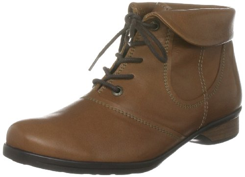Softwaves Women's Ruby Lace Tan Lace Ups Boots 4.83.02 3 UK, 36 EU