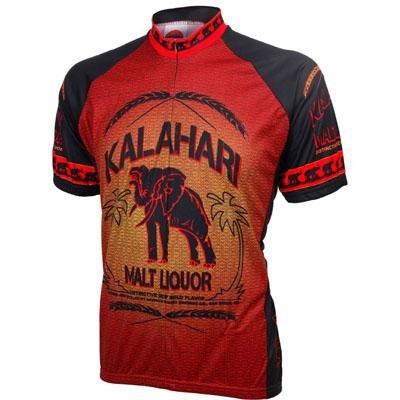 Image of World Jersey's Kalahari Malt Liquor Short Sleeve Cycling Jersey (B002TSKKKQ)
