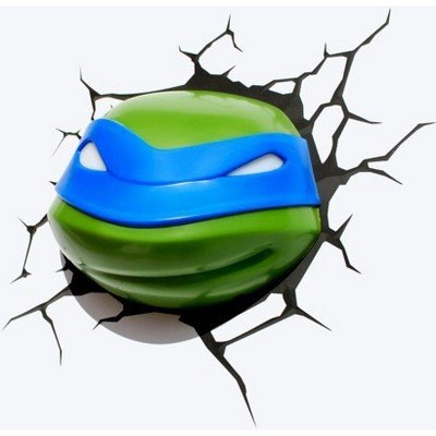 Teenage Mutant Ninja Turtles 3D Wall Art Nightlight - Leonardo