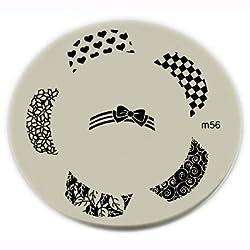 Konad Stamping Nail Art Image Plate M56
