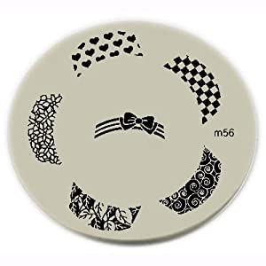Konad Stamping Nail Art Image Plate - M56 [Misc.]