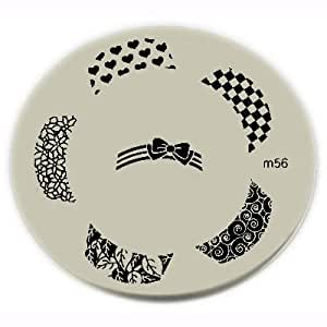 amazoncom konad stamping nail art image plate m56