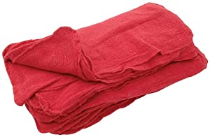Allstar ALL12010 Red Terry Cloth Shop Towel, (Pack of 25) at Sears.com