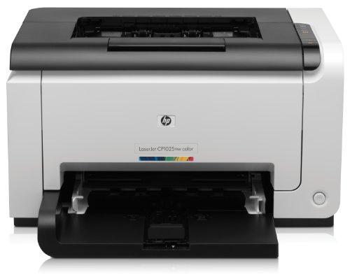HP Color LaserJet Pro CP1025nw Farblaserdrucker (600x600 dpi, WLAN, USB 2.0) wei�/