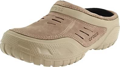Crocs Men's Yukon Sport Lined Clog,Khaki/Coffee,8 M US