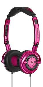 Skullcandy Lowrider Headphones - Pink/Black (discontinued by manufacturer)