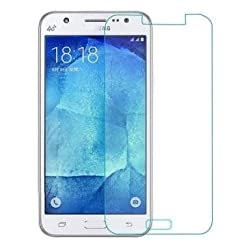 Red Qube Curved Tempered Glass For Samsung Galaxy J7