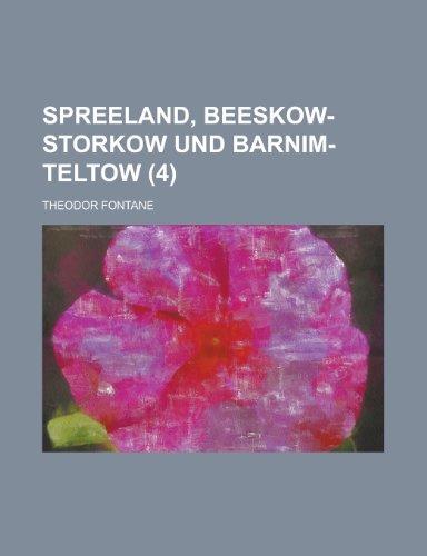 Spreeland, Beeskow-Storkow Und Barnim-Teltow (4)