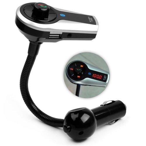 A2Dp Car Kit Mp3 Player Wireless Bluetooth Lcd Fm Transmitter Usb Tf Sd + Remote