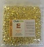 Club Vits Vitamin E 400iu - 365 Capsules GRIP SEAL BAG from Club Vits Ltd