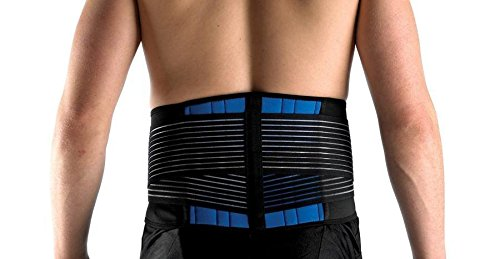 "Logo New Deluxe Neoprene Double Pull Lumbar Decrease Again Give a boost to Brace Workout Belt: L (34-38""/86-96cm) by way of Best possible Stethoscopes"
