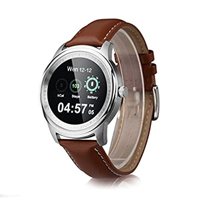 Smart Watch - Lemfo Luxury Bluetooth Watch Siri Sync For Android IOS Smartphone
