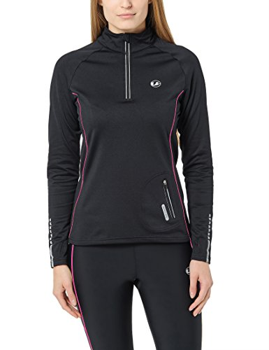 ultrasport-womens-wind-resistant-nelli-with-reflectors-and-quick-dry-function-fleece-running-shirt-b