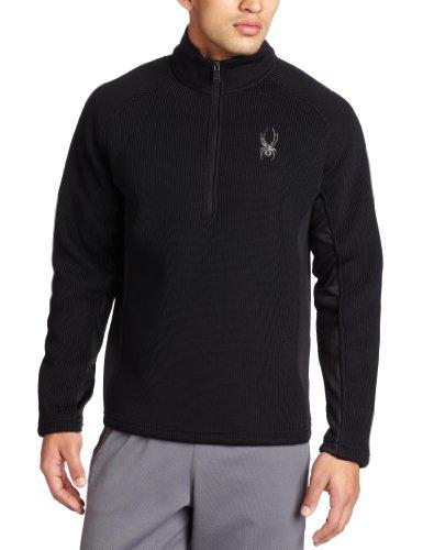 Spyder Half Zip Men's Core Sweater - Black, XX-Large