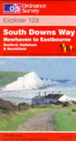South Downs Way - Newhaven to Eastbourne (Explorer Maps)