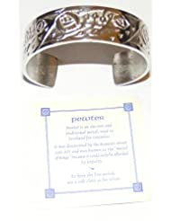 Rennie Mackintosh Glasgow Rose Pewter Bangle